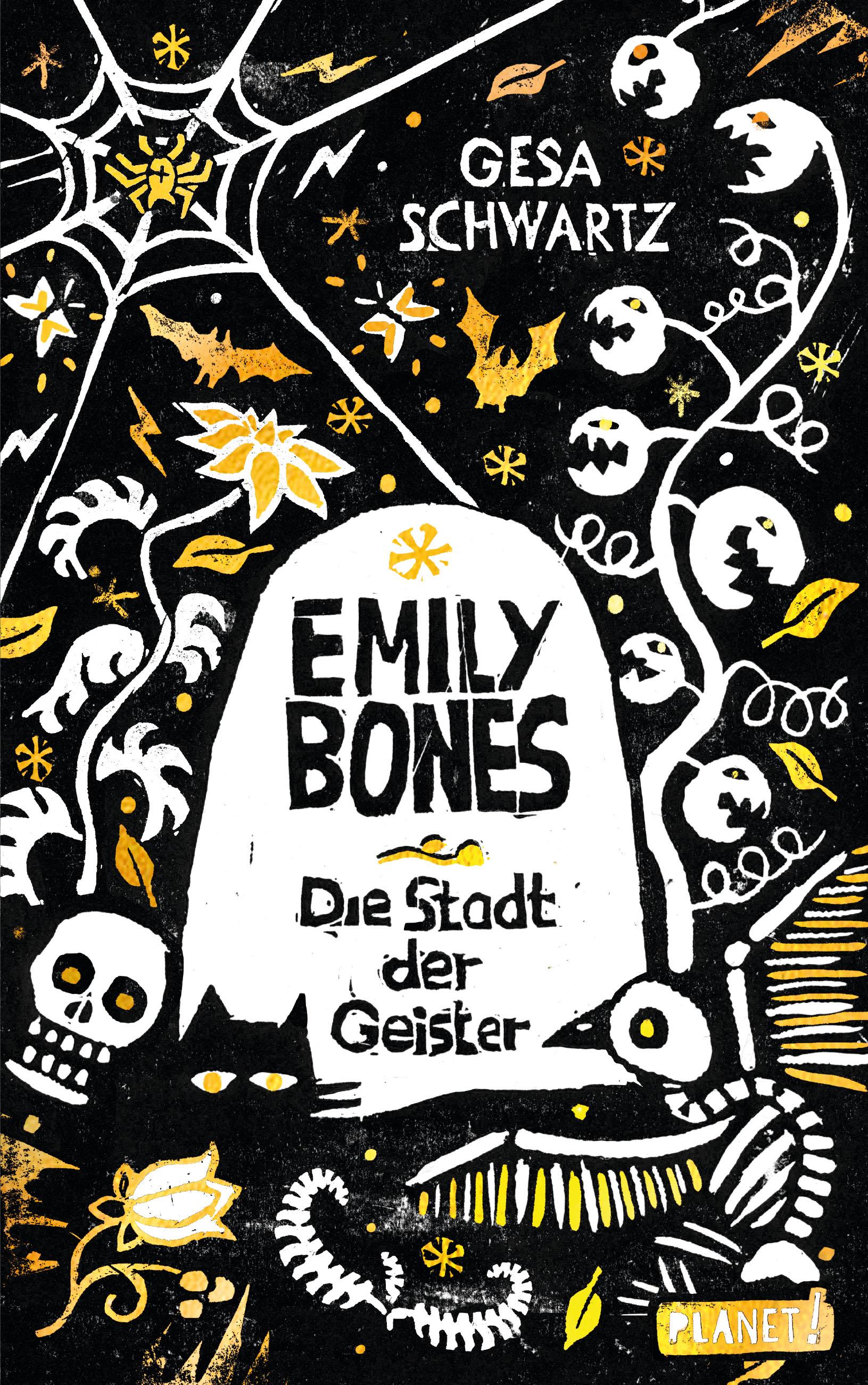 """Rezension: """"Emily Bones - Die Stadt der Geister"""" von Gesa Schwartz"""