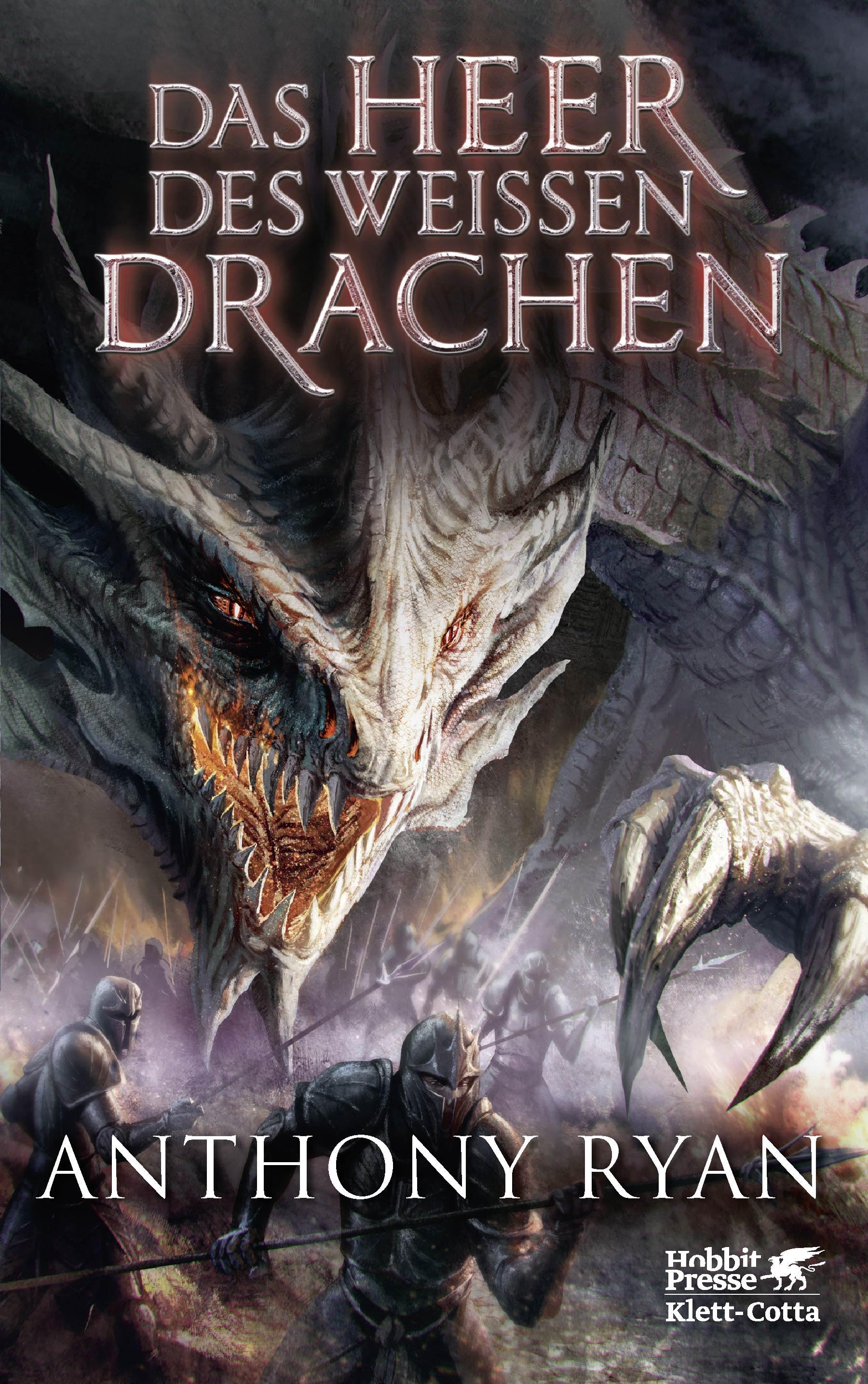 """Rezension: """"Das Heer des Weißen Drachen"""" von Anthony Ryan"""