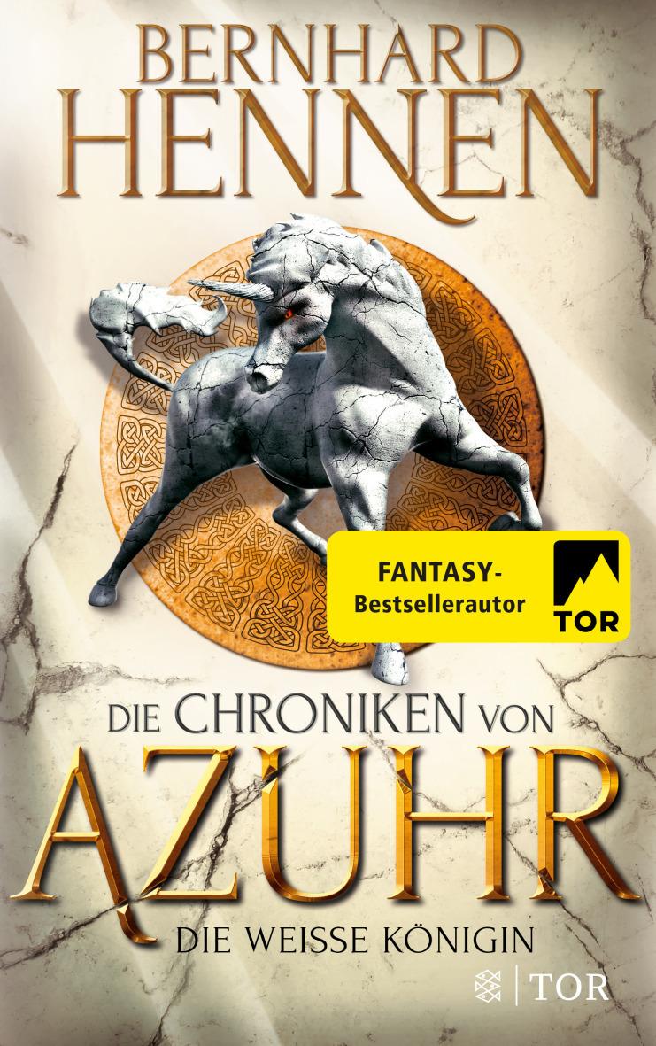 """Rezension: """"Die Chroniken von Azuhr - Die Weiße Königin"""" von Bernhard Hennen"""