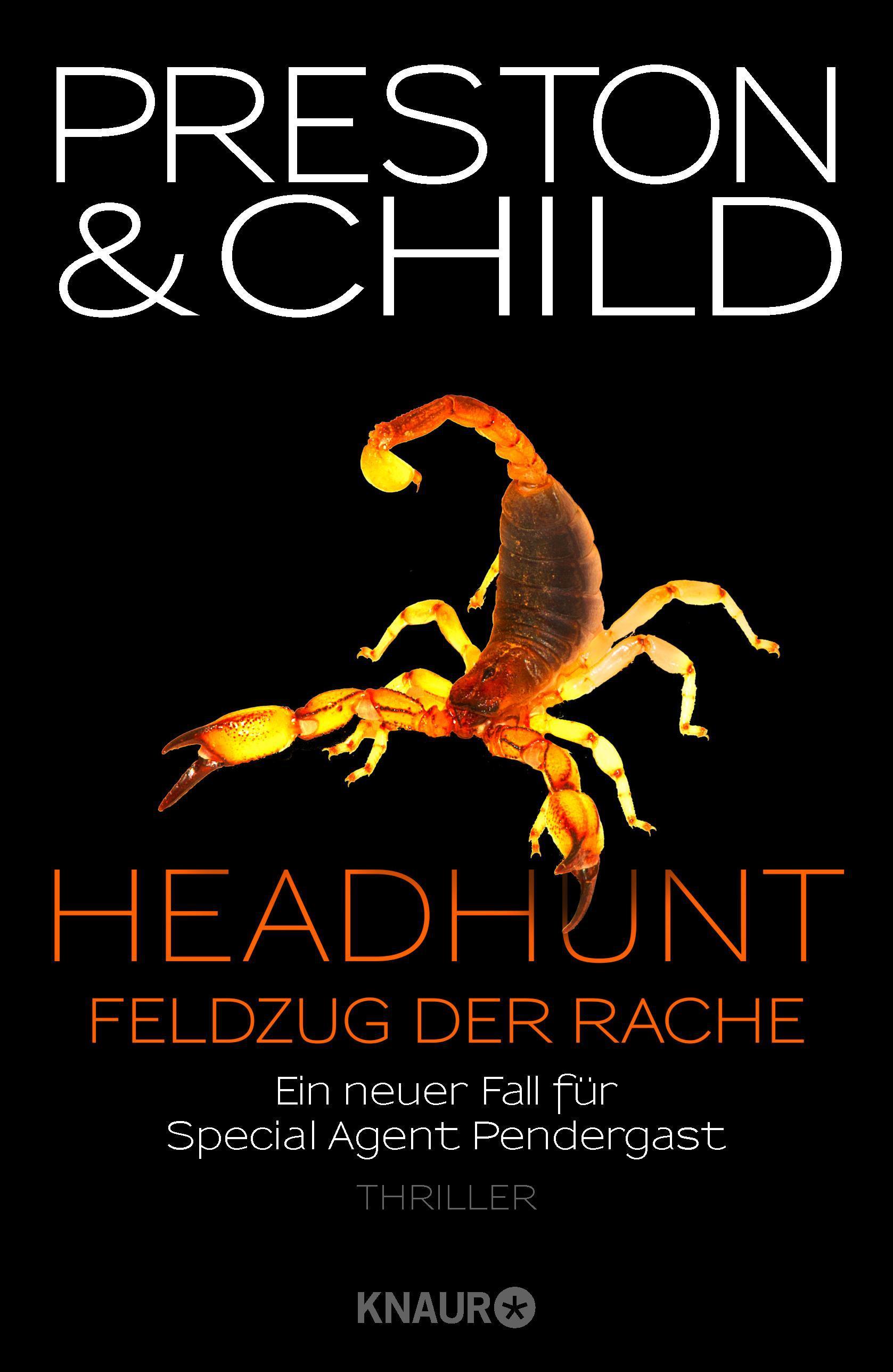 """Rezension: """"Headhunt - Feldzug der Rache"""" von Douglas Preston und Lincoln Child"""