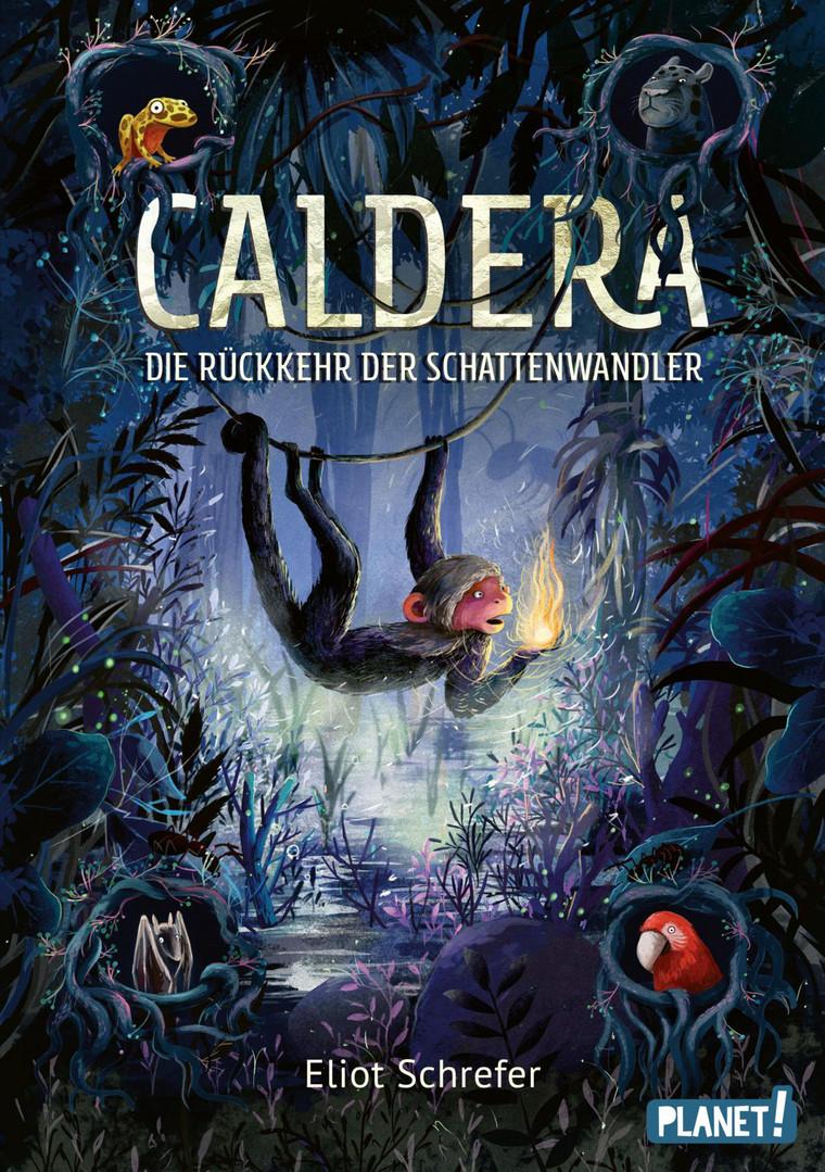 """Rezension: """"Caldera - Die Rückkehr der Schattenwandler"""" von Eliot Schrefer"""