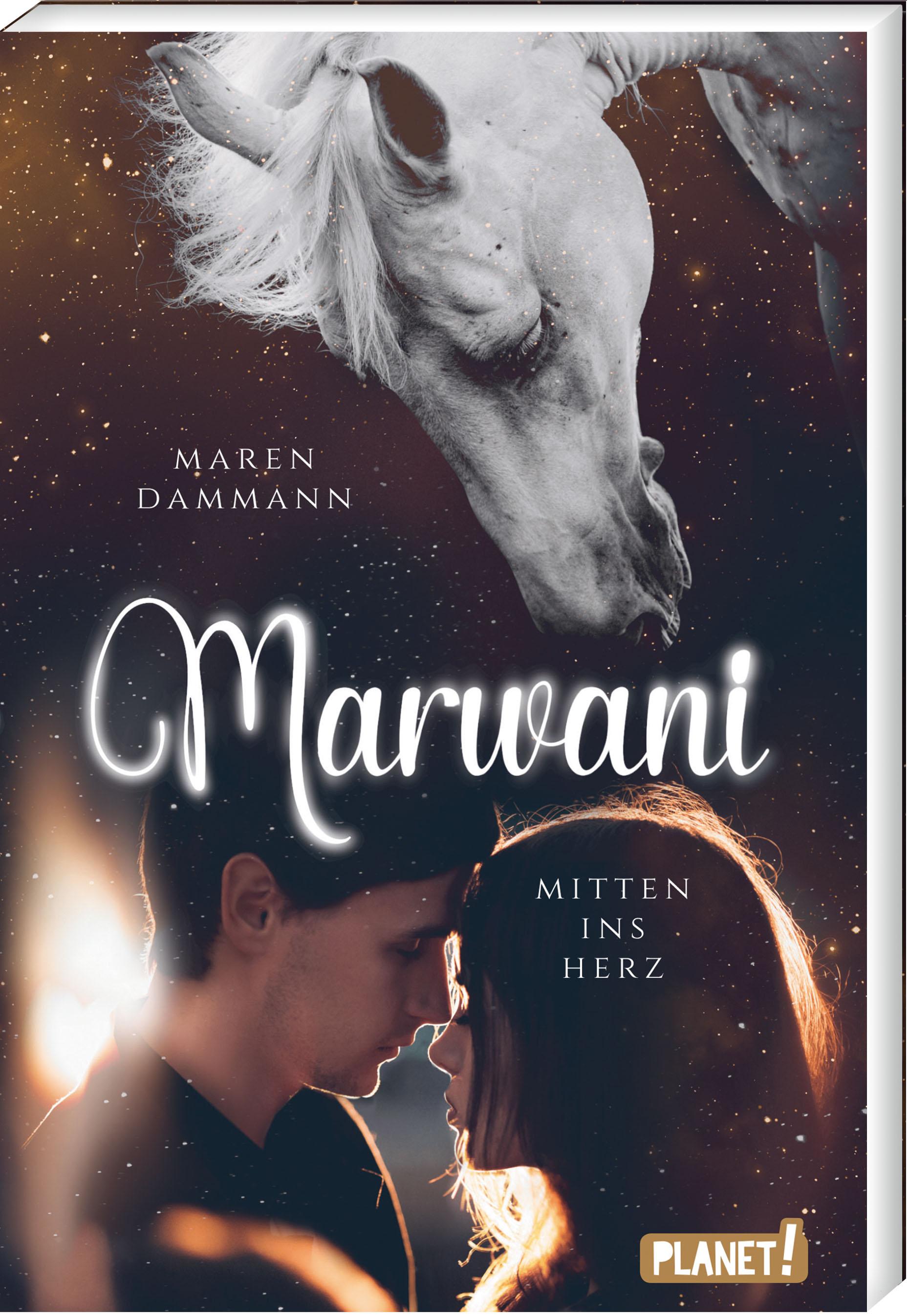 """Rezension: """"Marwani - Mitten ins Herz"""" von Maren Dammann"""