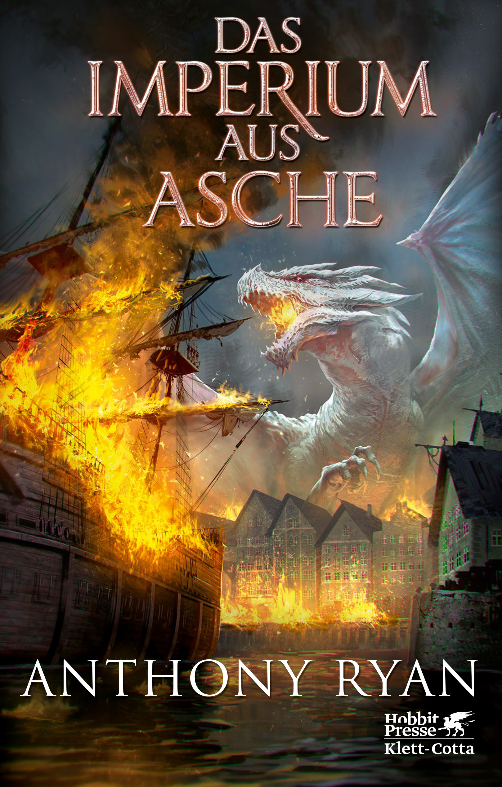 "Rezension: ""Das Imperium aus Asche"" von Anthony Ryan, (3. Band)"