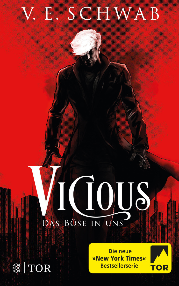 "Rezension: ""Vicious - Das Böse in uns"" von V. E. Schwab, (1. Band)"