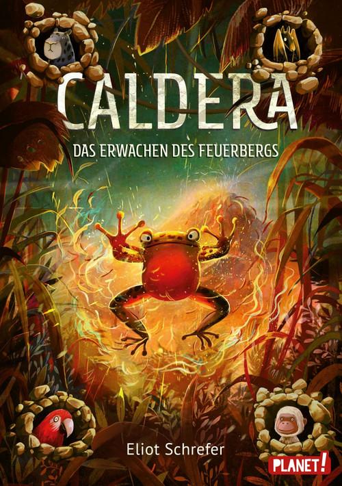 """Rezension: """"Caldera - Das Erwachen des Feuerbergs"""" von Eliot Schrefer, (3. Band)"""