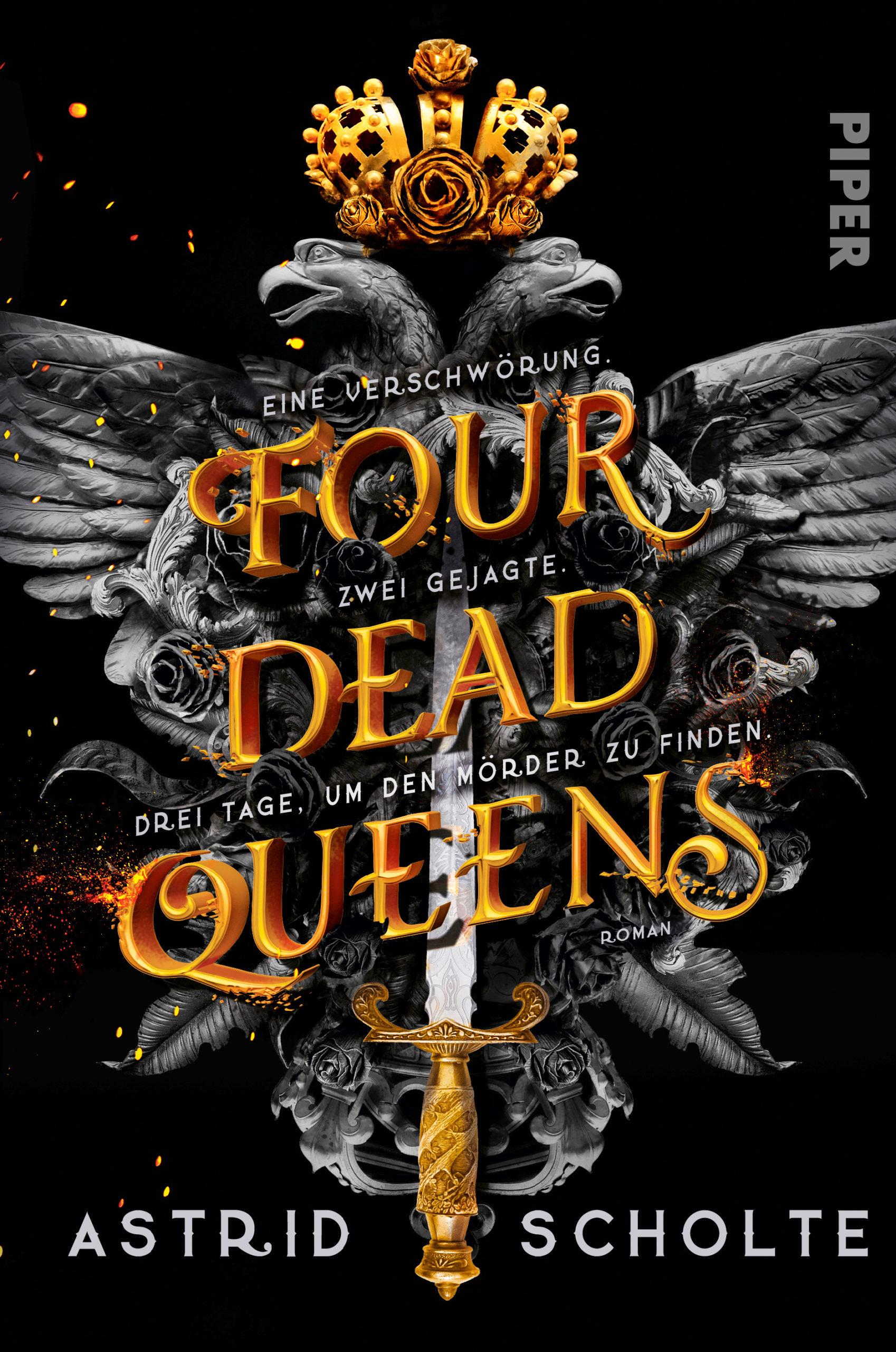 "Rezension: ""Four dead Queens"" von Astrid Scholte"