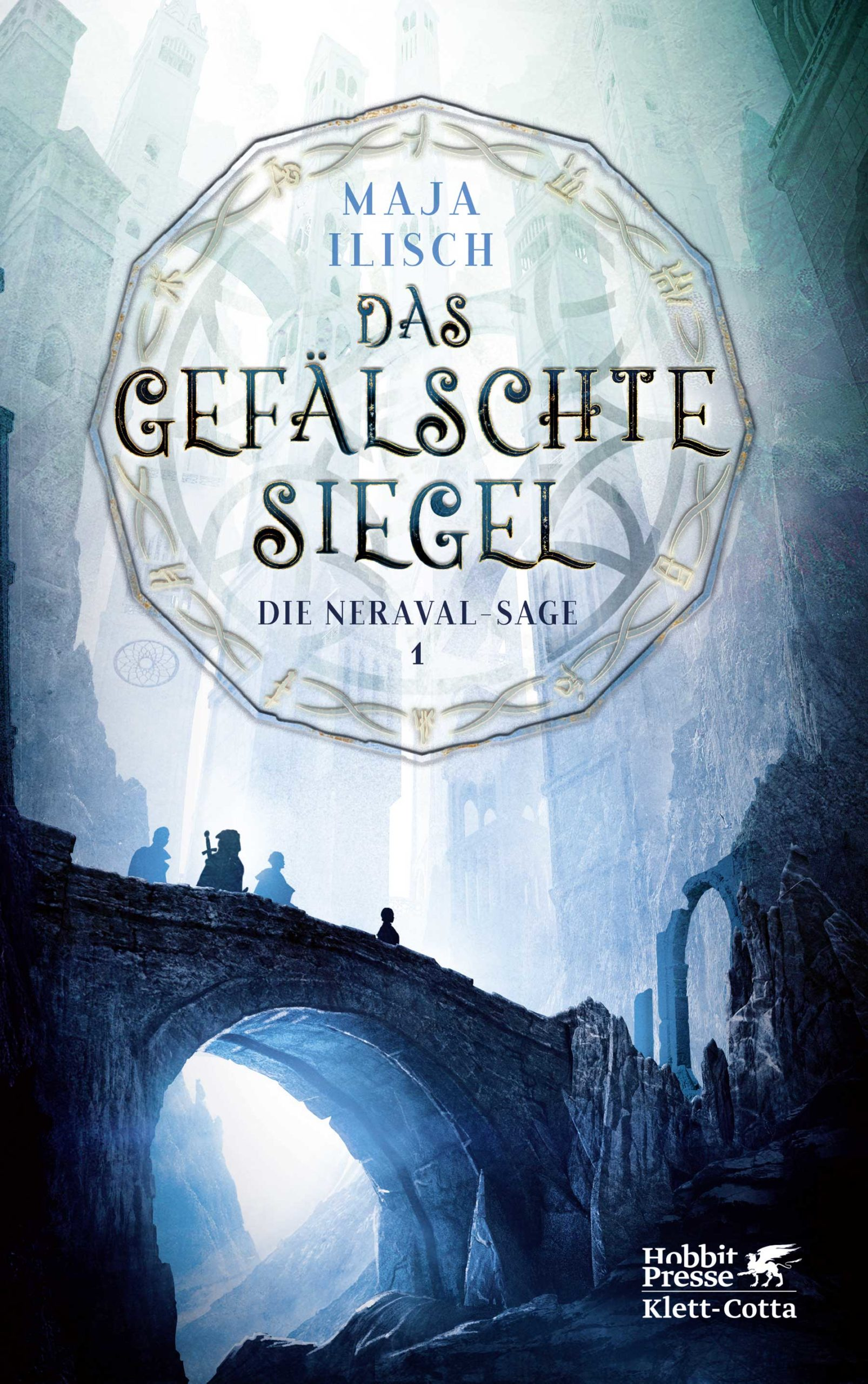 """Rezension: """"Das gefälschte Siegel"""" von Maja Ilisch, (1. Band)"""