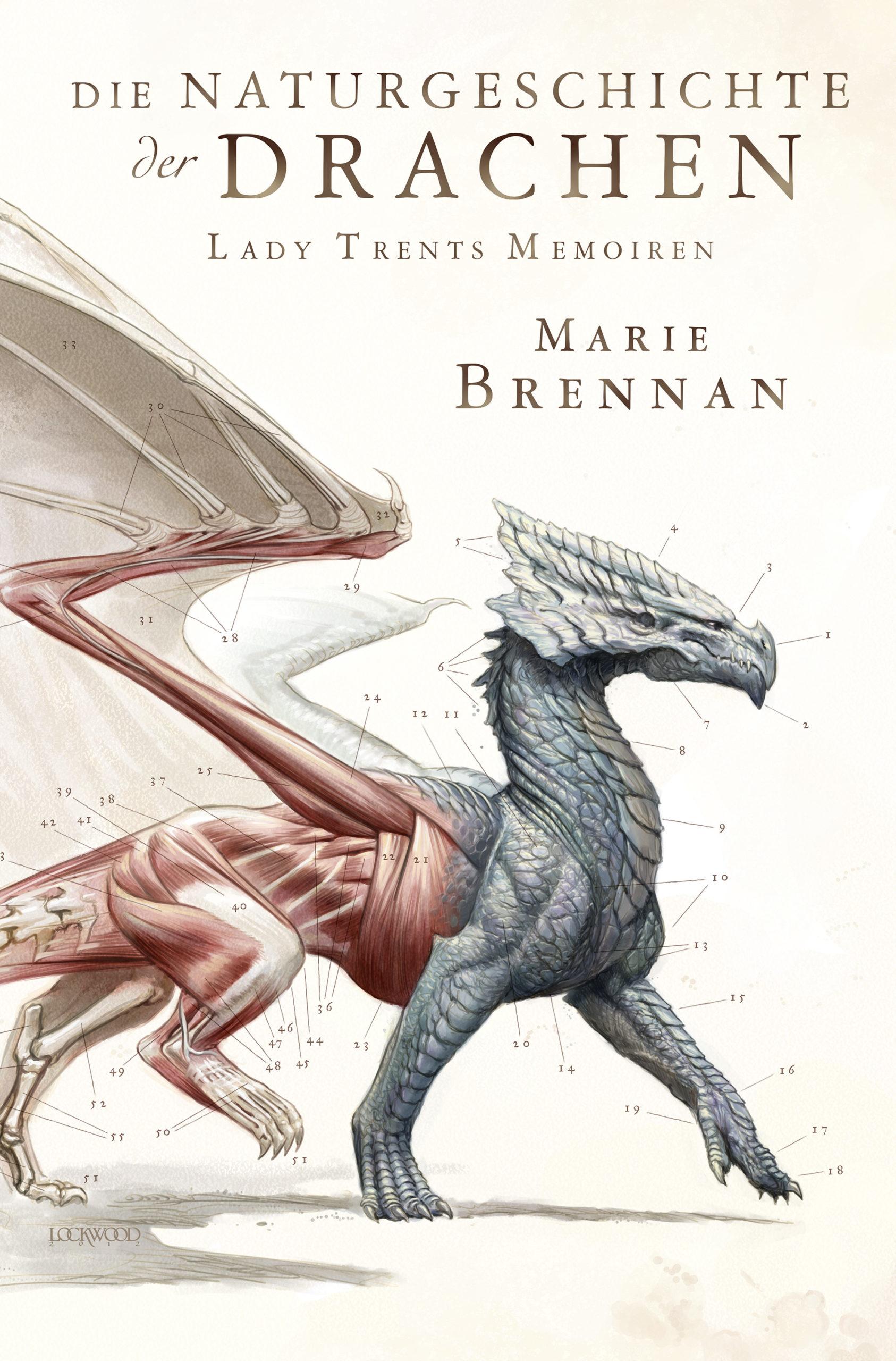 """Rezension: """"Die Naturgeschichte der Drachen"""" von Marie Brennan, (1. Band)"""