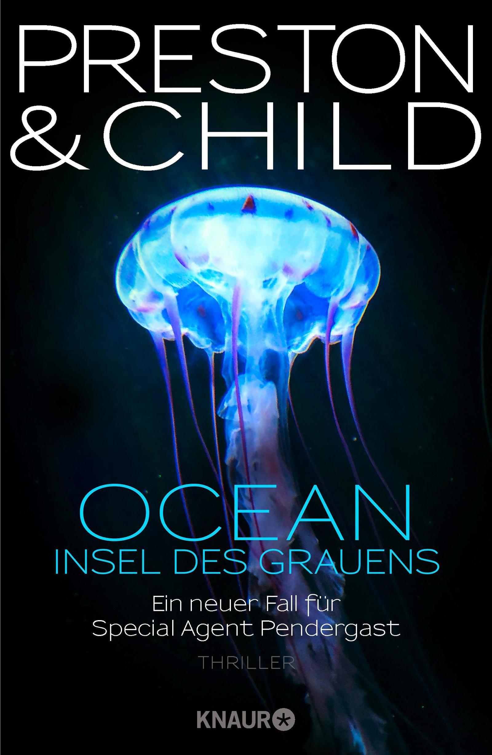 "Rezension: ""Ocean - Insel des Grauens"" von Douglas Preston und Lincoln Child, (19. Band)"